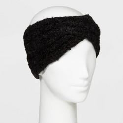 Women's Sherpa Headband - Universal Thread™ One Size