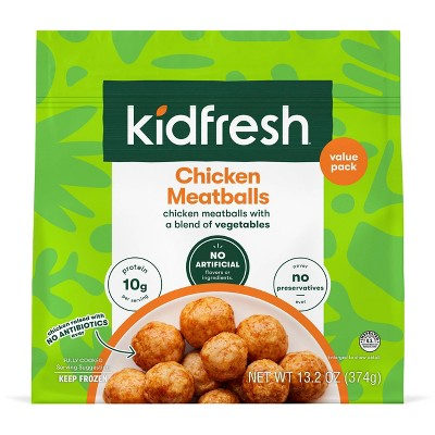 Kidfresh Mighty Meaty Frozen Chicken Meatballs - 13.2oz