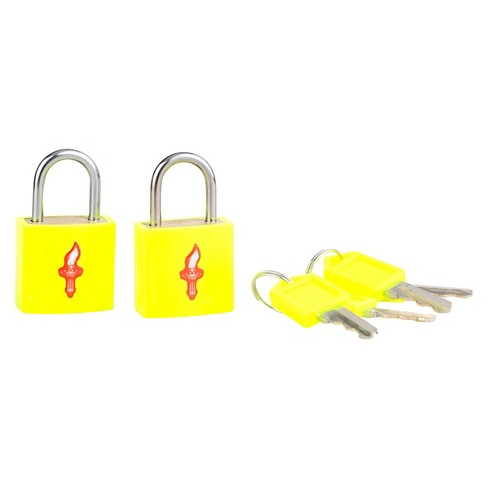 Safe Skies® TSA Luggage Padlocks / 2 Pack - image 1 of 4