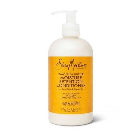 SheaMoisture Restorative Conditioner for Dry Damaged Hair Raw Shea Butter - 13 fl oz - image 1 of 4