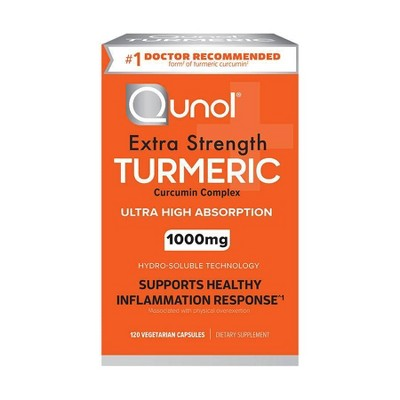 Qunol Extra Strength Turmeric 1000mg Capsules