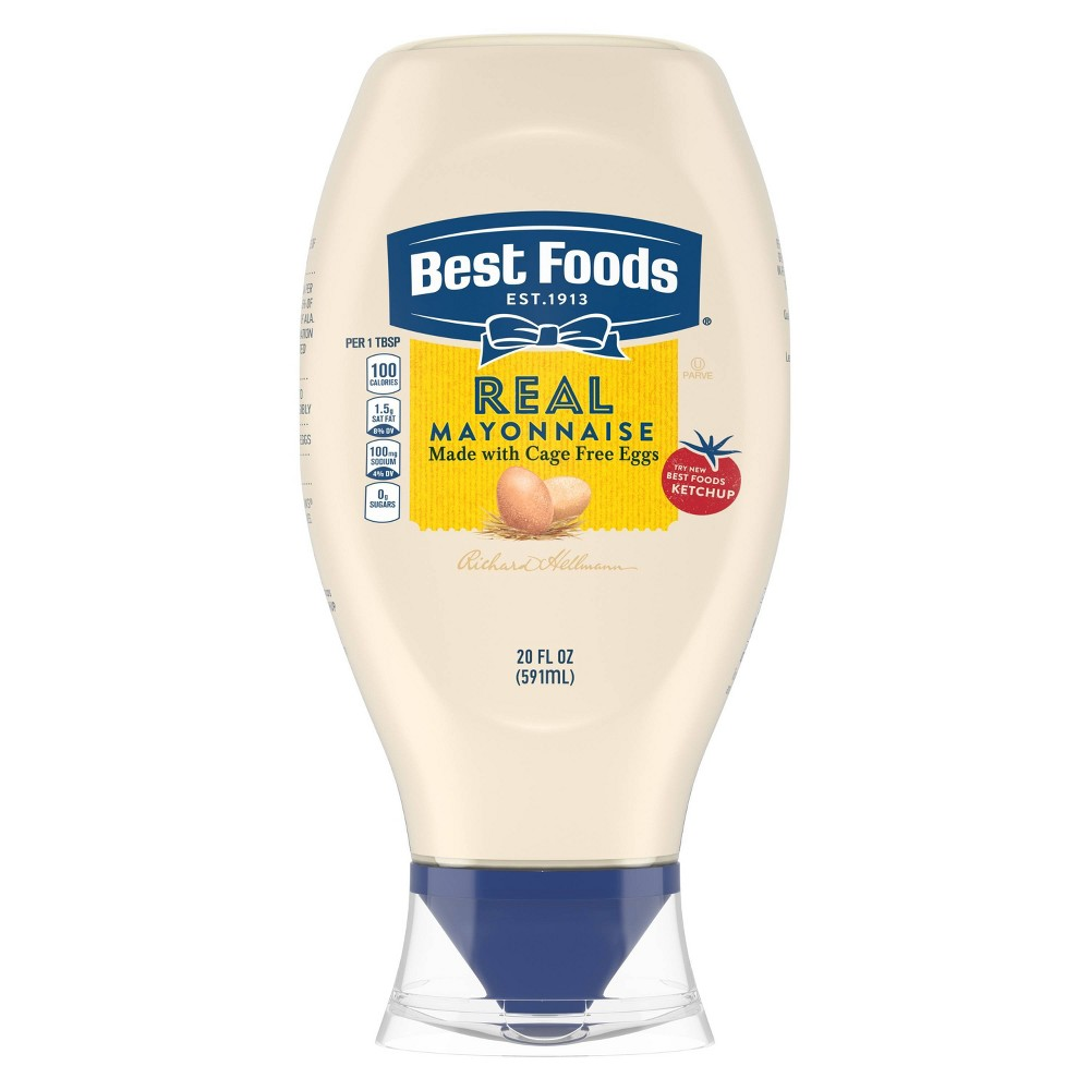 Best Foods Mayonnaise Squeeze Mayo 20oz Cheap