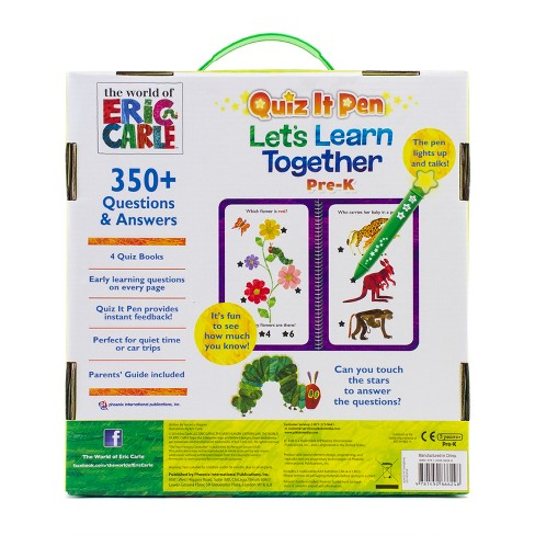 The World of Eric Carle Quiz It Pen: Let's Learn Together Boxed Set