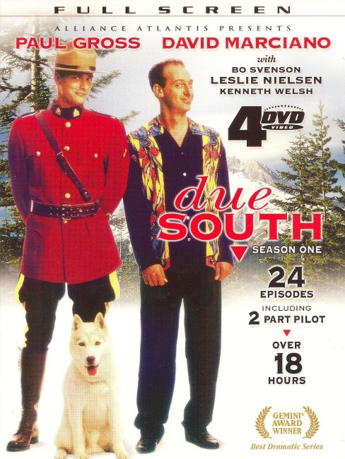 Due South: Season 1 (4 Discs) (dvd_video) - image 1 of 1