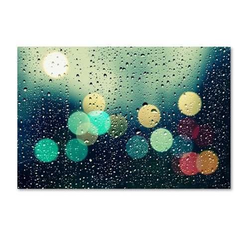 'Rainy City' by Beata Czyzowska Young Ready to Hang Canvas Wall Art - image 1 of 1
