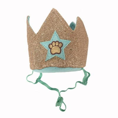 Birthday Crown with Paw Print Dog Headwear - Boots & Barkley™
