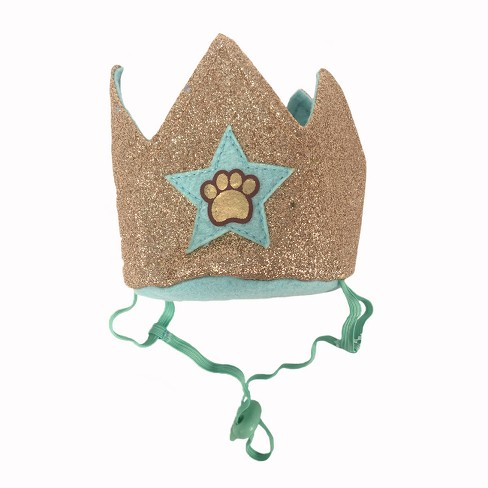 Birthday Crown with Paw Print Dog Headwear - Boots & Barkley™ - image 1 of 1