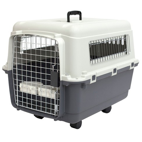 Kennel Direct Dogs Crate - Gray - Medium - image 1 of 3