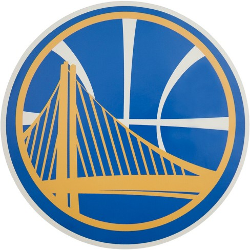 NBA Golden State Warriors Large Outdoor Logo Decal - image 1 of 1