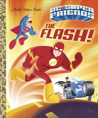 The Flash! (DC Super Friends) - (Little Golden Book) by  Frank Berrios (Hardcover)