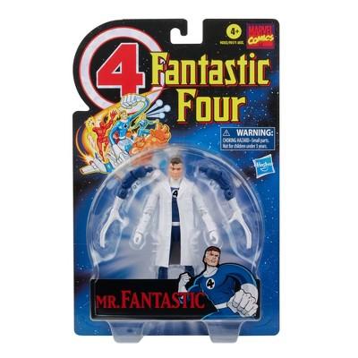 Hasbro Marvel Legends Series Retro 6in Mr. Fantastic Figure