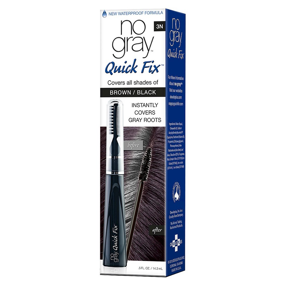 Image of no gray Quick Fix Color Touch-up Systems - Brown/Black - 0.5 fl oz