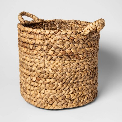 "16""x14.5"" Decorative Basket Natural - Threshold™"