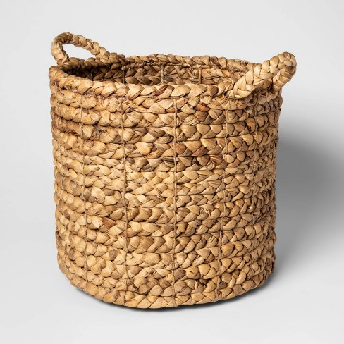 "16""x14.5"" Decorative Basket Natural - Threshold™ - image 1 of 2"