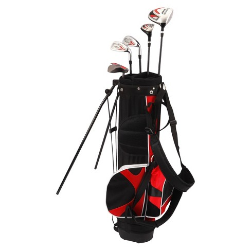 Nitro Golf Blaster Junior's 8pc Golf Club Set - Black/Red - image 1 of 1