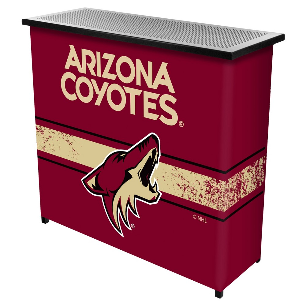 NHL Arizona Coyotes Portable Bar with Case