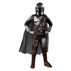 Kids' Star Wars Mandalorian Halloween Costume Jumpsuit with Mask
