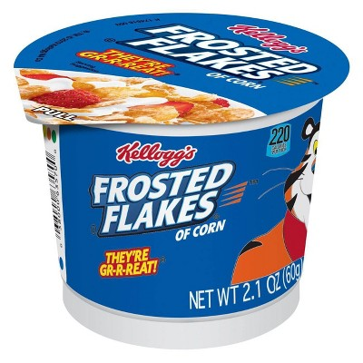 Frosted Flakes Breakfast Cereal - Single Serve Cup - 2.1oz - Kellogg's