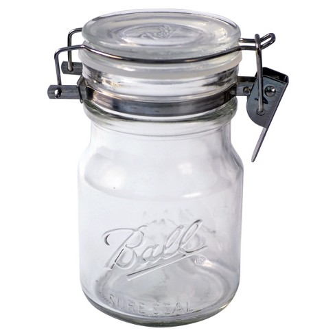 Ball 14oz Sure Seal Glass Mason Jar with Wire Bail Lid - image 1 of 3