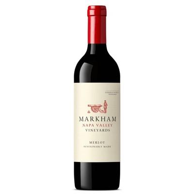 Markham Merlot Red Wine - 750ml Bottle
