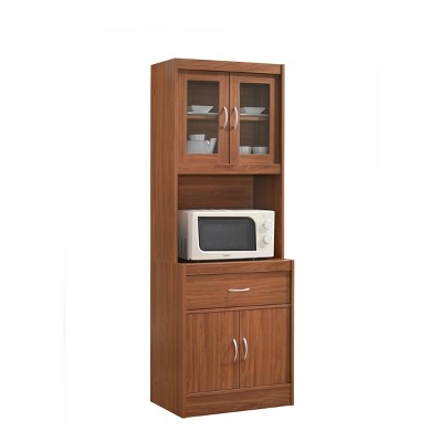 Dining Hutch with Microwave Compartment - Hodedah