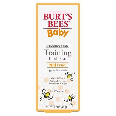 Burt's Bees Infant Training Fluoride Free Toothpaste - 1.7oz