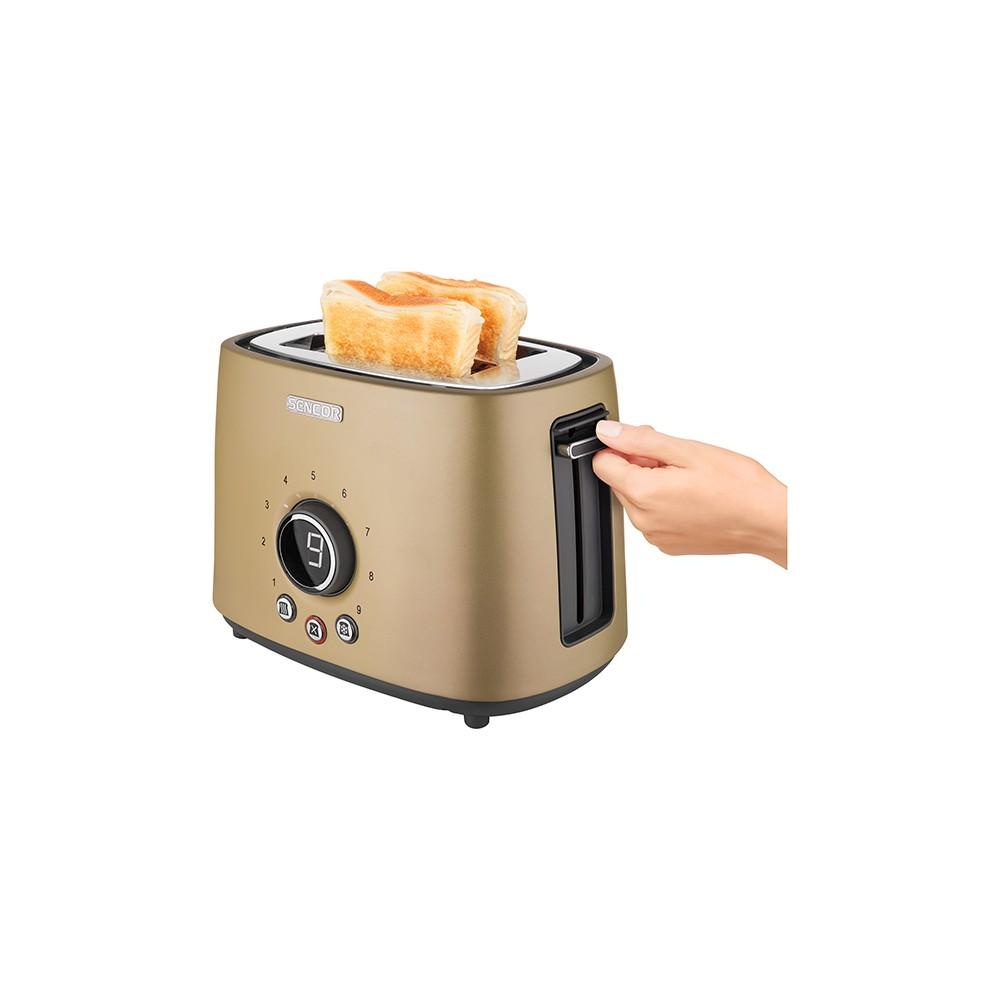 Sencor Metallic 2 Slice Toaster – Champagne (Beige) 54279460
