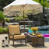 Shirt Texture Deep Seat Outdoor Cushion Set Yellow - Arden Selections - image 2 of 4