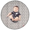 Skip Hop Grab & Go Round Trip Zig Zag Travel Mat - Gray - image 2 of 4