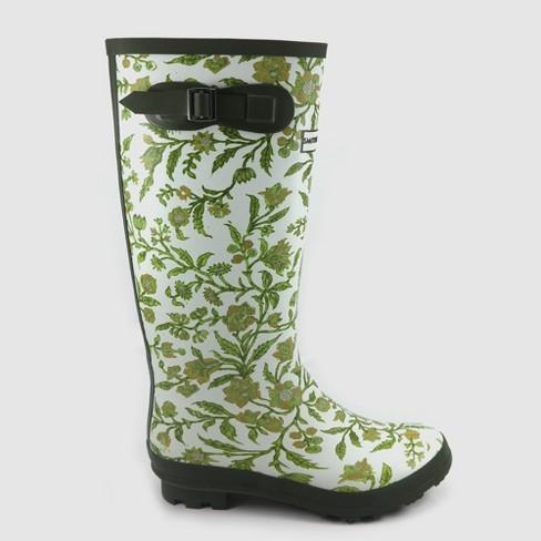 Women S Tall Garden Boots Green 7 Smith Hawken