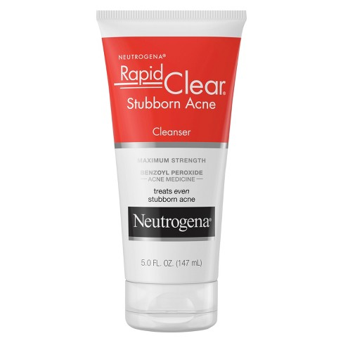 Neutrogena Rapid Clear Stubborn Acne Facial Cleanser - 5 fl oz - image 1 of 3