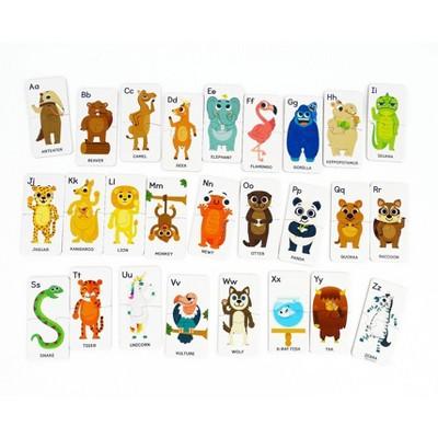 Chuckle & Roar ABC Animals Preschool Learning Puzzles Kids' Puzzle Set - 26pk