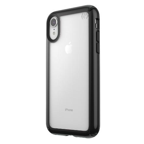 finest selection b3fd8 c5624 Speck Apple iPhone XR Presidio Case - Clear/Black