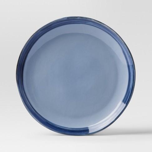 "10.8"" Valetta Porcelain Dinner Plate Blue - Project 62™ - image 1 of 1"