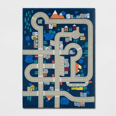 "4'x5'5"" Transportation Game Rug   Pillowfort™ by Pillowfort"