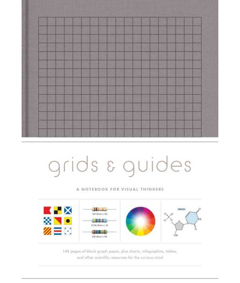 Grids & Guides, Gray : A Notebook for Visual Thinkers (Hardcover) - image 1 of 1