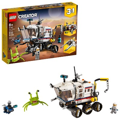 LEGO Creator 3in1 Space Rover Explorer Building Toy Kit for Kids 31107