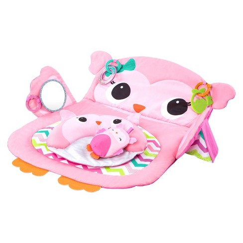 938fd5cc5 Bright Starts™ Tummy Time Prop   Play™ Activity Mat - Pink   Target