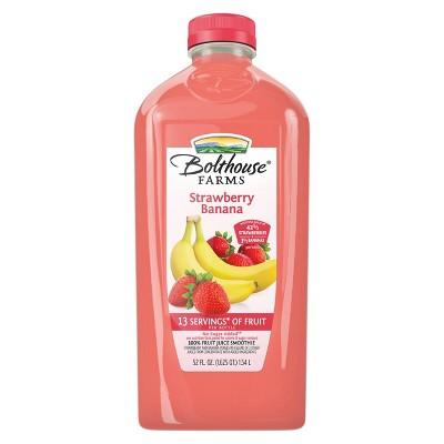 Bolthouse Farms Strawberry Banana Smoothie - 52 fl oz