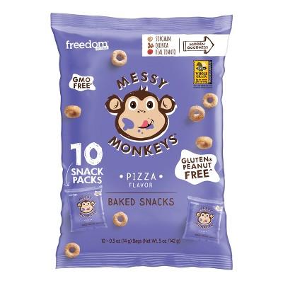 Baby & Toddler Snacks: Messy Monkeys
