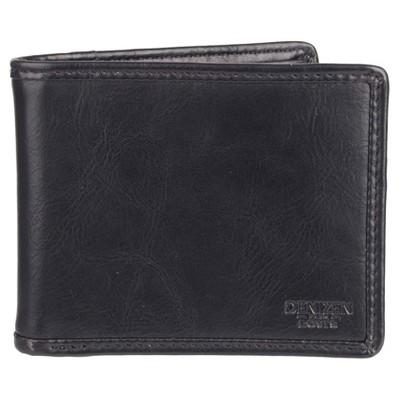 DENIZEN® from Levi's® Men's Pieced Edge X-Cap Slimfold Wallet - Black