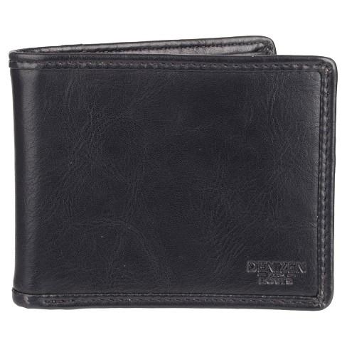 Denizen® From Levi's® Men's Pieced Edge X-Cap Slimfold Wallet - Black - image 1 of 4