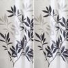 Leaves Shower Curtain - iDESIGN - image 3 of 4