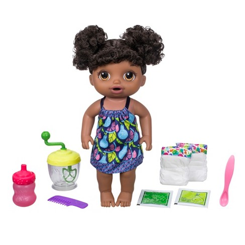Baby Alive Sweet Spoonfuls Baby Doll Girl - African American - image 1 of 9