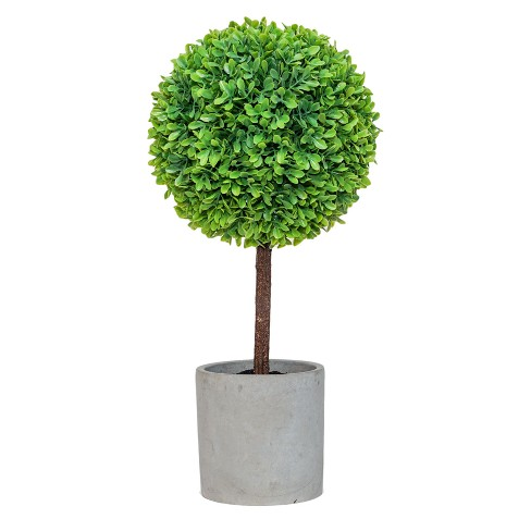 "Artificial Boxwood Arrangement Green 15.5"" - Lloyd & Hannah - image 1 of 1"