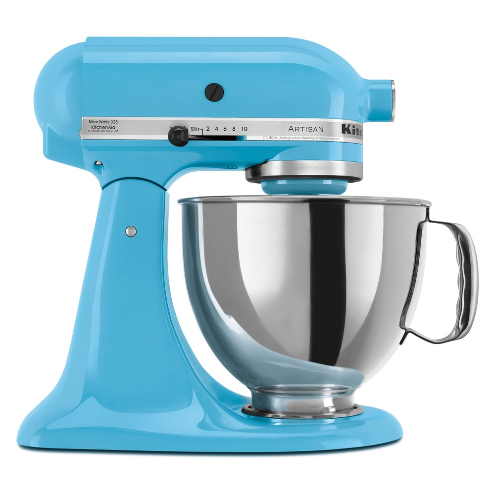 KitchenAid Refurbished Artisan Series Stand Mixer – Crystal Blue RRK150CL 53499022
