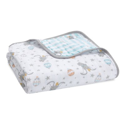 Aden + Anais Essentials Disney Baby Muslin Blanket - Dumbo New Heights