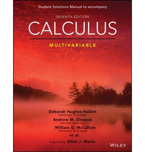 Calculus Multivariable (Paperback) (William G. McCallum & Deborah Hughes-Hallett & Andrew M. Gleason & - image 1 of 1