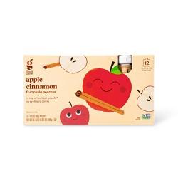 Cinnamon Applesauce Squeezer - 12ct - Good & Gather™