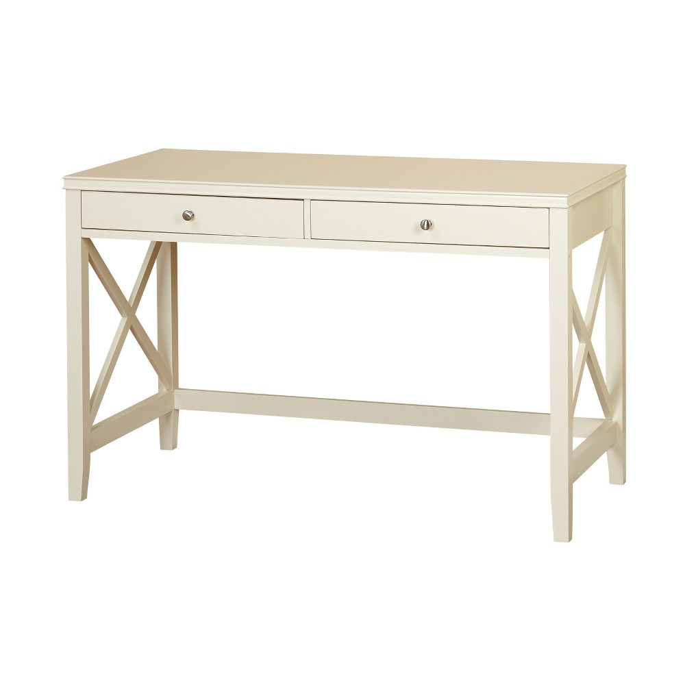 Anderson X Desk - Antique White - Buylateral